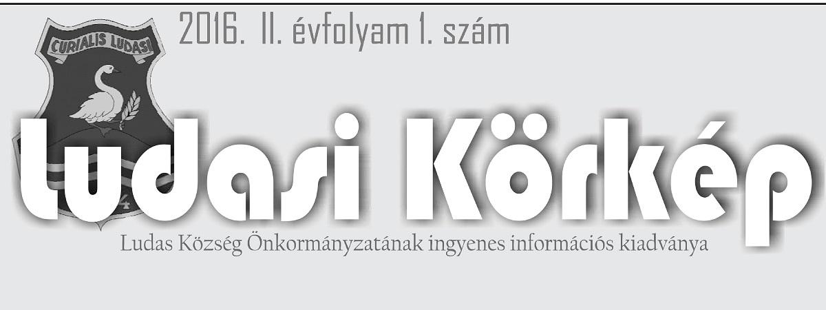 Ludasi Körkép 2016 1. szám